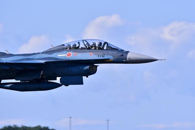 写真: 三沢基地航空祭。。最後のトリは第3飛行隊F-2機動飛行