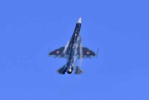 三沢基地航空祭。。大トリはハイレートで第3飛行隊F-2