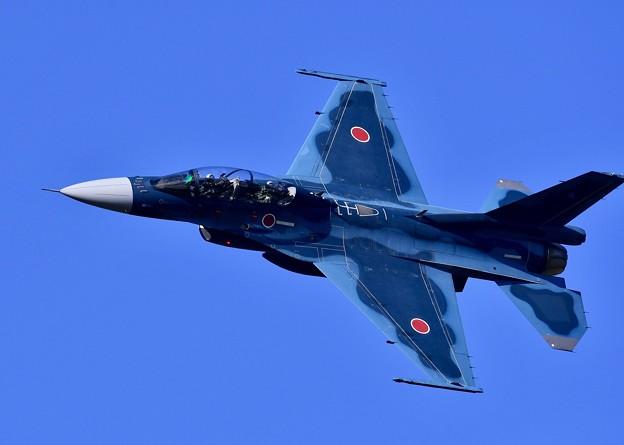 三沢基地航空祭。。洋上迷彩の青と三沢の青空