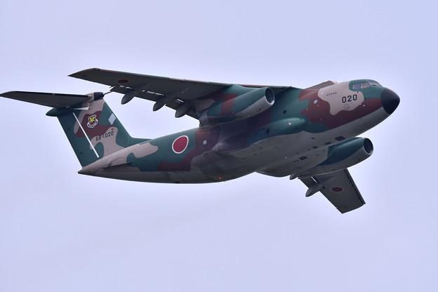航空祭終えて翌日。。入間へ帰投C-1輸送機