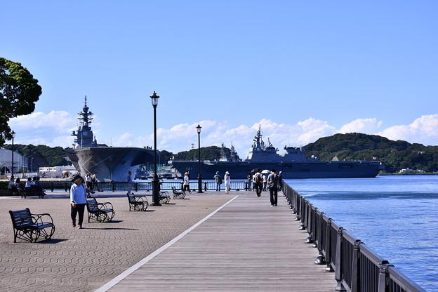 日常のヴェルニー公園の風景。。軍港の町横須賀 20170918