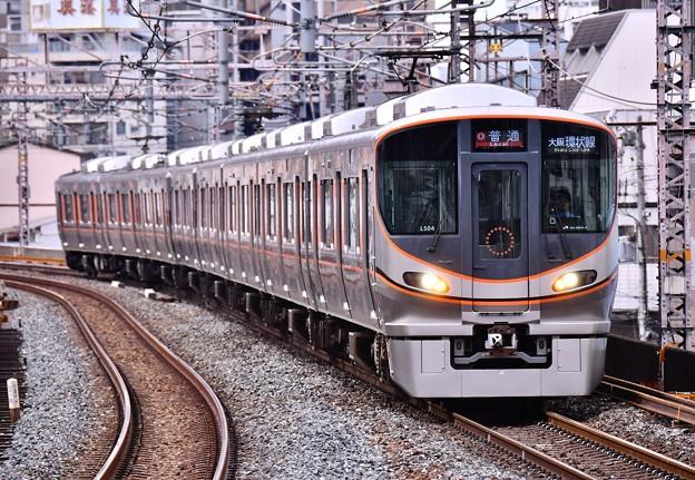 大阪環状線の新型車両323系 まだピンとこない(^_^;) 20171001
