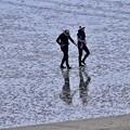 写真: 撮って出し。。那覇の瀬長島 ビーチ 11月22日