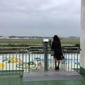 写真: 撮って出し。。この前寒かった嘉手納。。1人寂しく基地眺め 11月23日