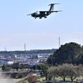 写真: 入間基地航空祭予行。。C-1ランウェイ35 市街地をアプローチ。。(^^)20171030