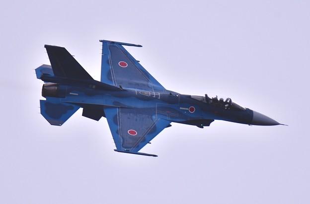 雨降る前に最後の機動飛行へ飛行開発実験団F-2上がり