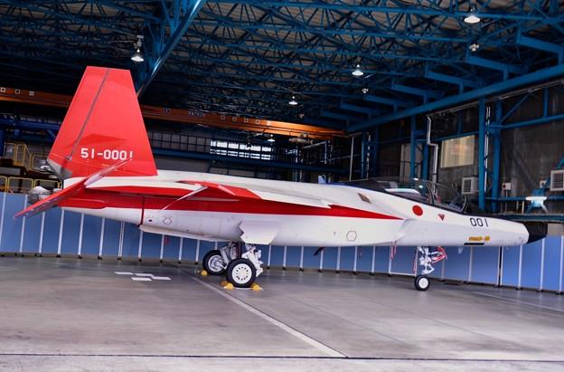 ギリギリ見れた岐阜基地テストカラー国産ステルス戦闘機X-2 テスト終了で解体へ