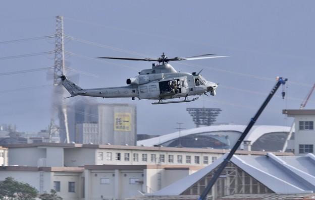 なかなか見れない米海兵隊UH-1Yヴェノム 20171122
