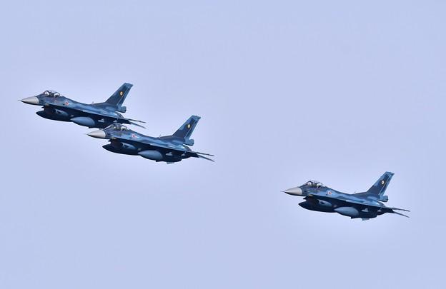 築城基地航空祭前日予行練習 第6飛行隊F-2