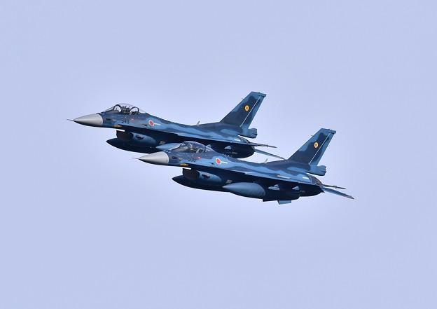 築城基地航空祭前日予行練習綺麗に編隊飛行第6飛行隊