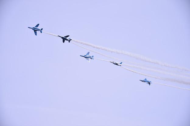 築城基地航空祭予行練習。。チェンジオーバーターンへ。。