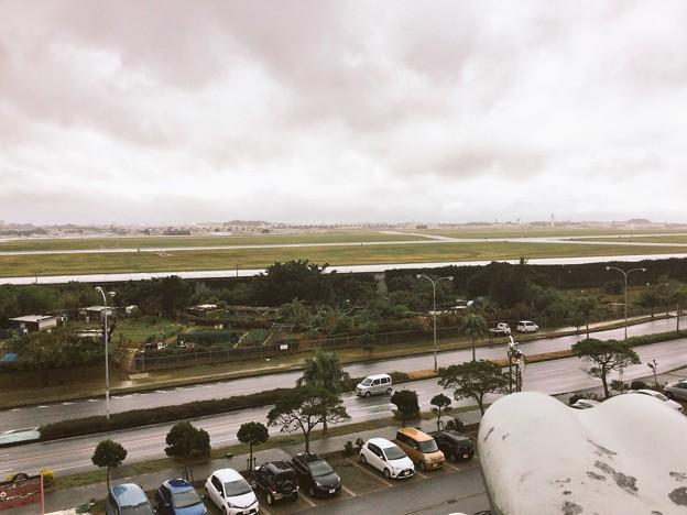 撮って出し。。沖縄嘉手納基地。。雨。。1月8日