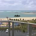 写真: 撮って出し。。雨の朝 沖縄のコンドミニアム 1月8日