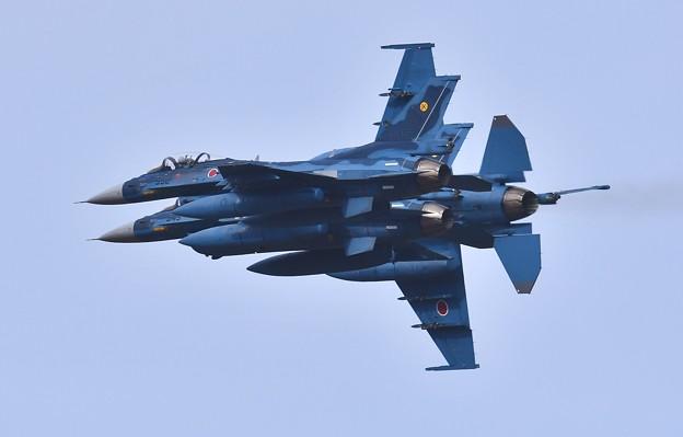 築城基地航空祭予行練習。。連続オーバーヘッドアプローチ(2)