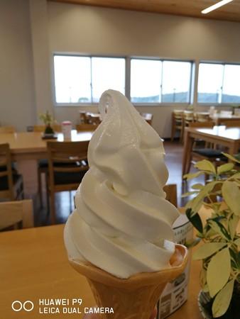 牛乳ソフト(道の駅・すさみ【和歌山】)