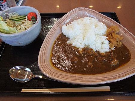 津山ホルモンカレー(道の駅・久米の里【岡山】)