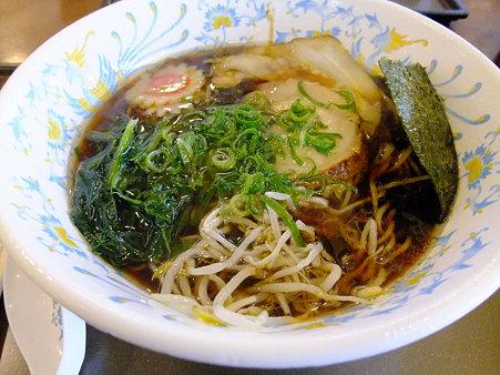 忍術焦がし醤油黒ラーメン(甲南PA上り【新名神】)