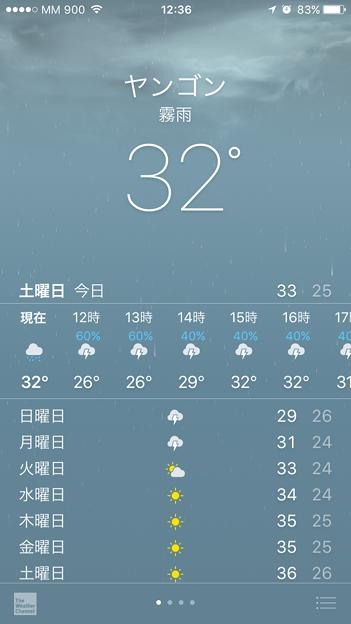 雨のミャンマー イーストダゴン (1)