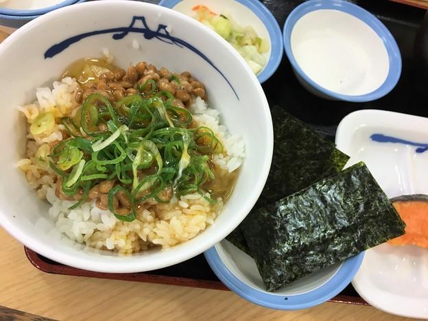 松屋 朝めし (4)