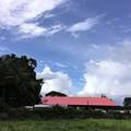 青い空と奇妙な雲な天気 (2)