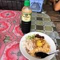 Photos: 朝食のタミンジョウの変化 (1)