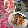 Photos: 朝食のタミンジョウの変化 (3)