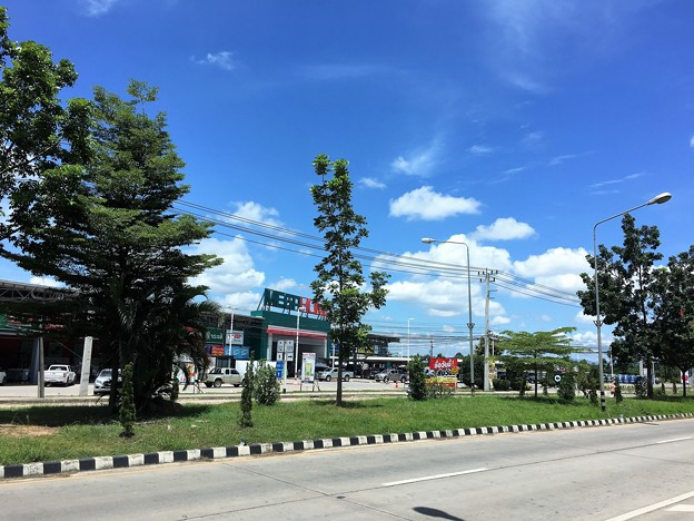 メソートの青空と雲 (1)