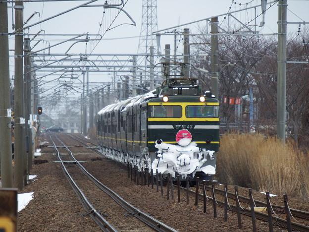 EF81-43牽引 トワイライトエクスプレス 4