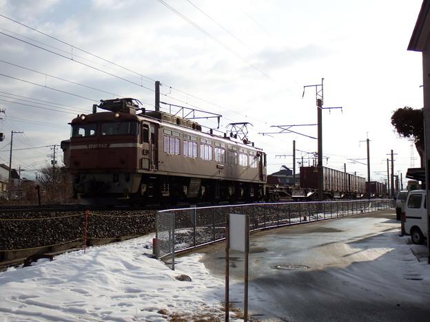 EF81‐742牽引 1657レ