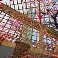 写真: 【HDR】紅梅とポートタワー セリオン