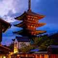 写真: 八坂の塔 (法観寺)