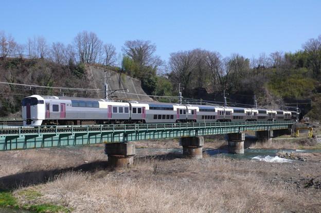 215系 ホリデー快速ビューやまなし(中央本線)(2010年3月撮影)