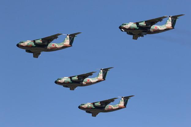 C-1&U-4飛行展示2