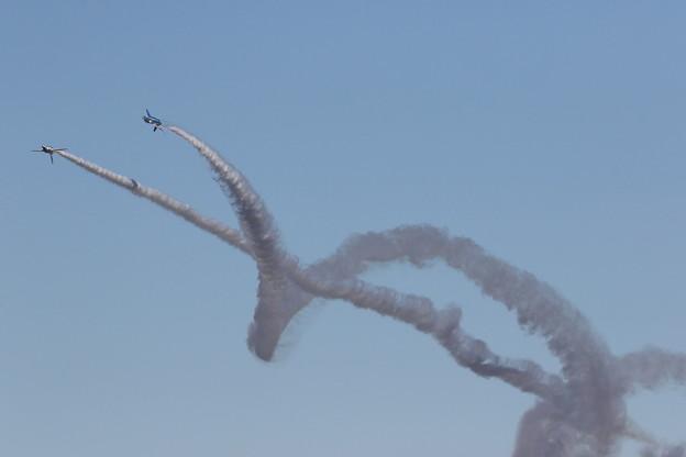 Photos: ブルーインパルス 飛行展示10