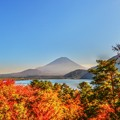 写真: November of Mt. Fuji ~Motosu Side~