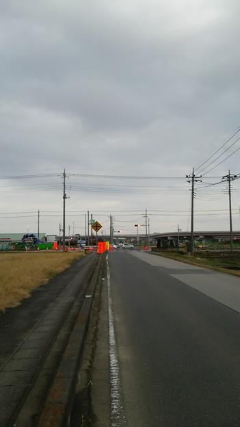 新4号国道、道の駅ごか近くの4車線化進捗状況その2