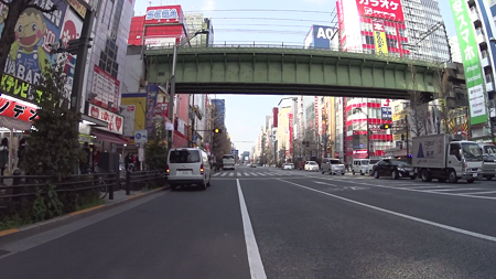 秋葉原駅から千住寿町までのスクリーンショット6