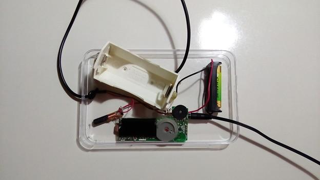 単1~単4の電池どれでも1本でラジオが聴けるラジオ