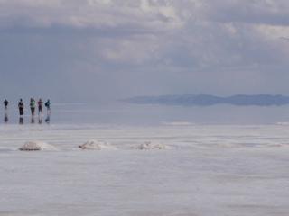 写真: ウユニ塩湖5