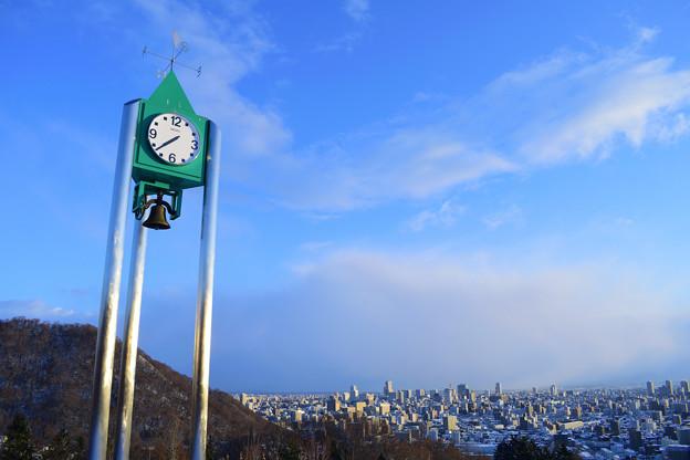 鐘付き時計