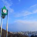写真: 鐘付き時計