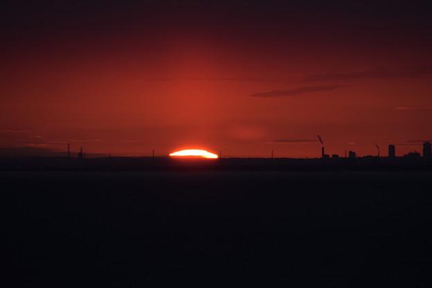 小樽祝津からの日の出1