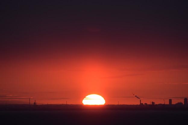 小樽祝津からの日の出2