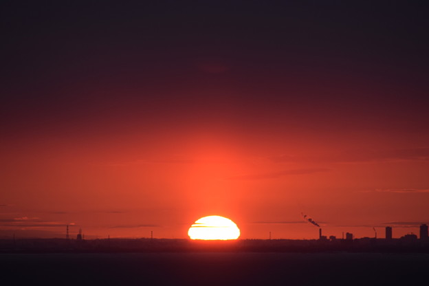 Photos: 小樽祝津からの日の出2