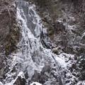 扁妙の氷った滝