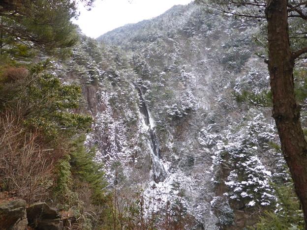滝見台から見た扁妙の滝