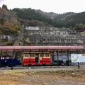 写真: 一円電車