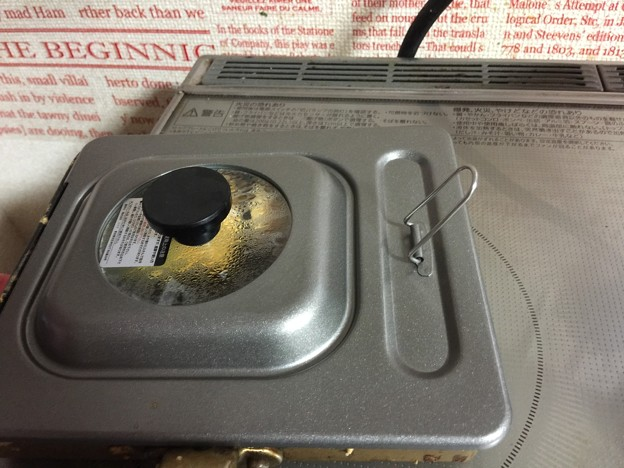 玉子焼きフライパンの蓋