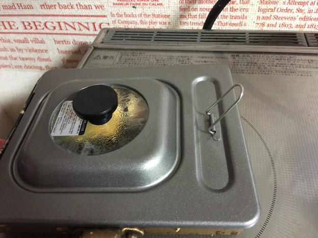 Photos: 玉子焼きフライパンの蓋