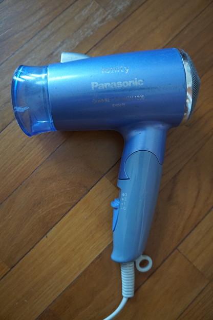 6.Panasonic イオンドライヤー $20